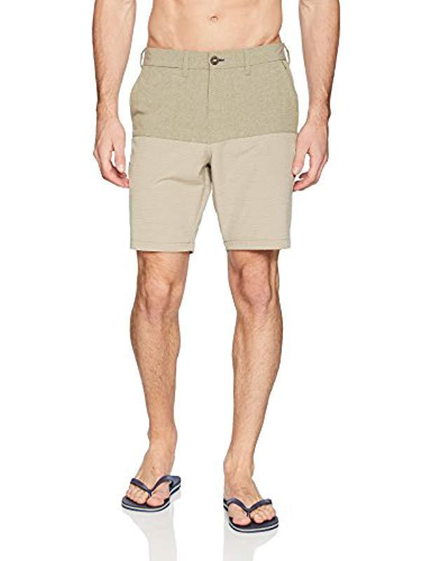 11337e2be9 Lyst - Billabong New Order X Fifty 50 Walkshort in Natural for Men ...