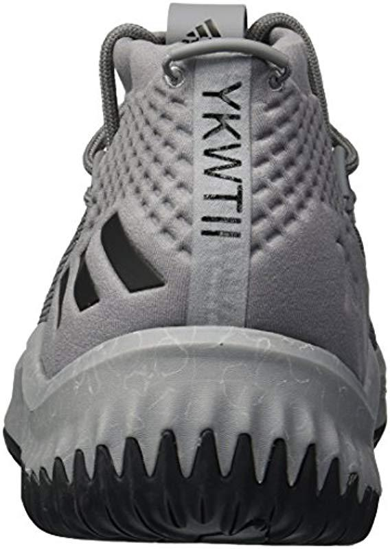 6c341b0354da Adidas - Gray Crazy Time Ii Football Shoe for Men - Lyst. View fullscreen