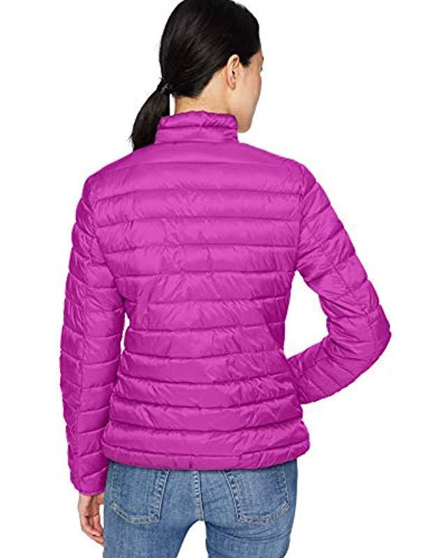 47470ebc18 Starter Lightweight Packable Puffer Jacket in Purple - Lyst