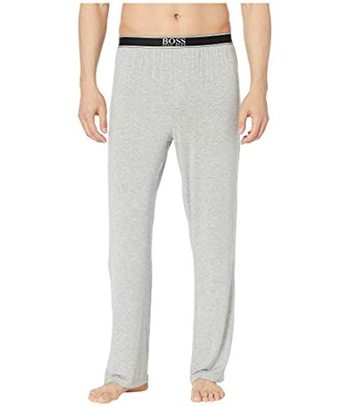 80c1f88f0 Lyst - BOSS Micromodal Lounge Pant in Gray for Men