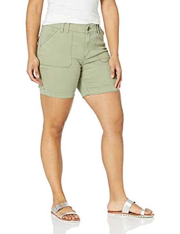84c9c0f882 Lyst - Lee Jeans Plus Size Flex Motion Regular Fit Walkshort in Green