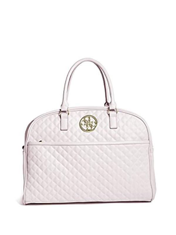 971aaa06212d Lyst - Guess G-lux Collection Dome Tote - Save 10.714285714285708%