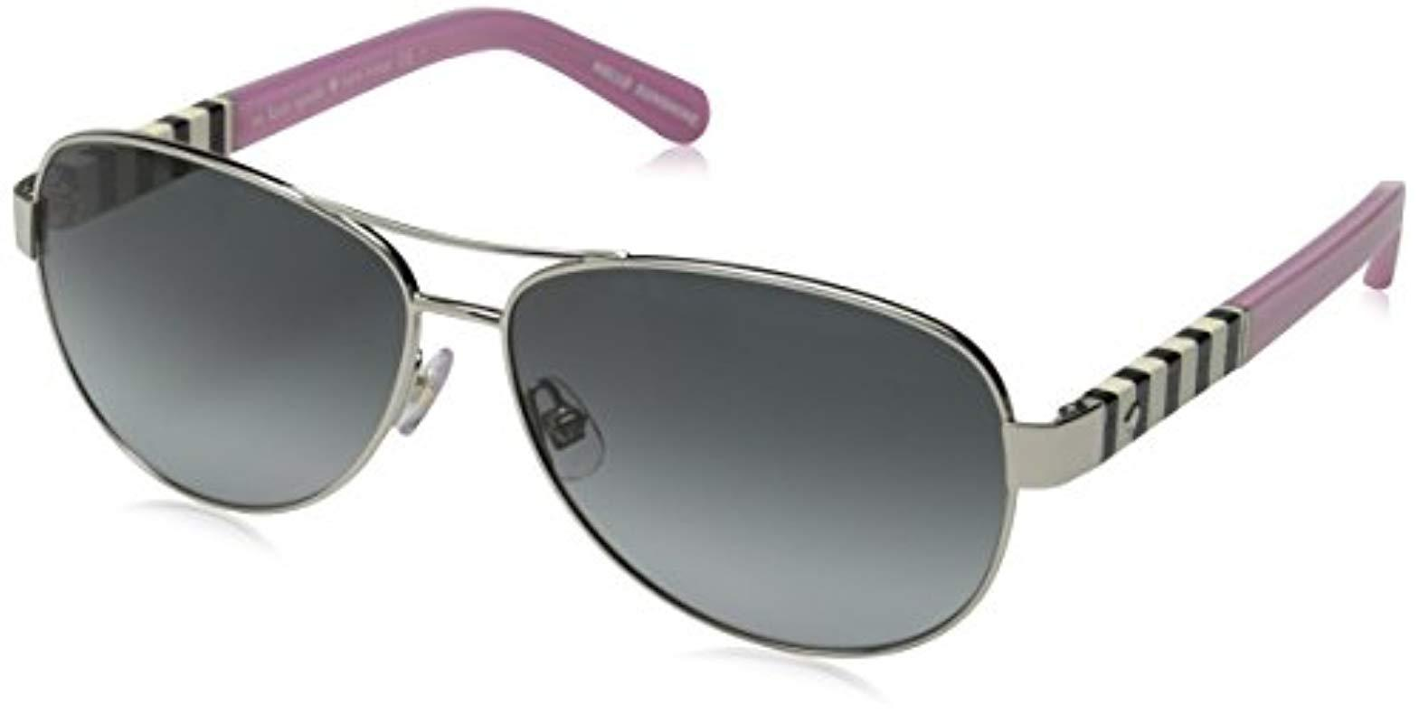 301533fdc78d5 Kate Spade Kate Spade Dalia Aviator Sunglasses - Save 3% - Lyst