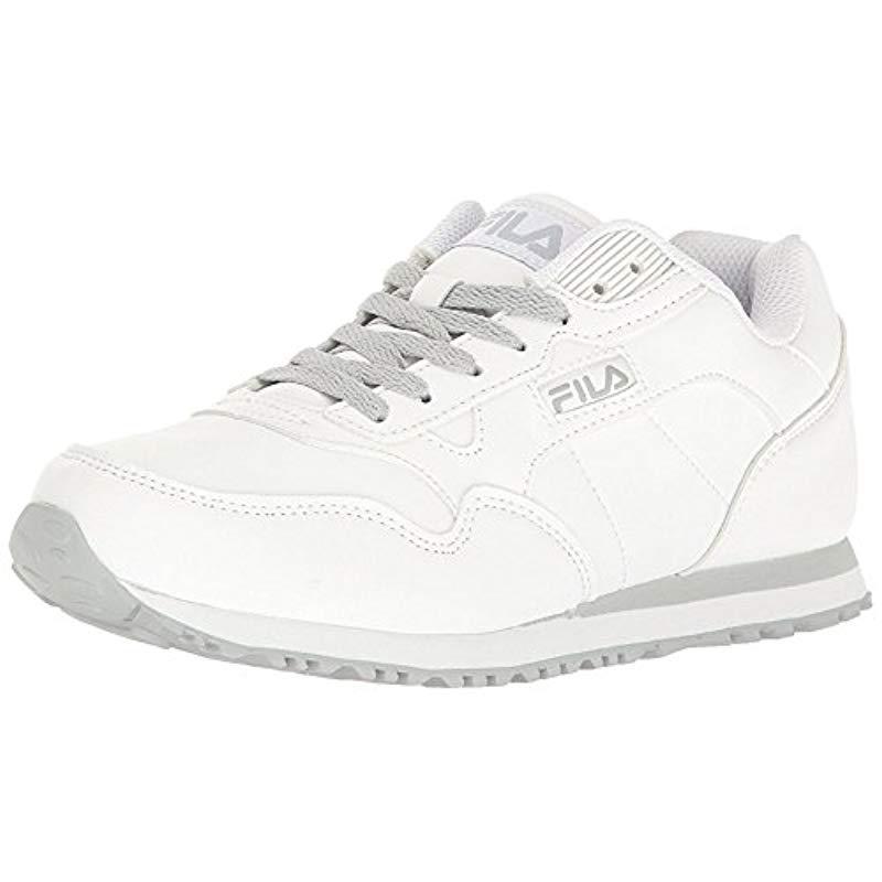 ae9d385371ca Lyst - Fila Cress Walking Shoe in White