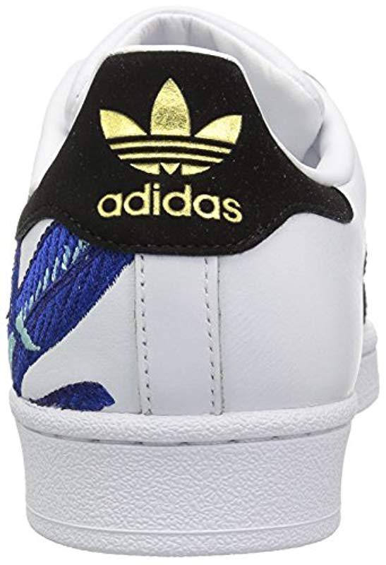 buy popular 717dc 29606 Lyst - Adidas Originals Superstar Shoes Running in Metallic