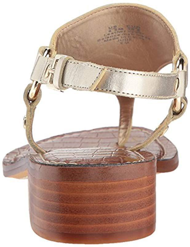 79058e717 Lyst - Sam Edelman Jude Heeled Sandal in Metallic - Save 31%