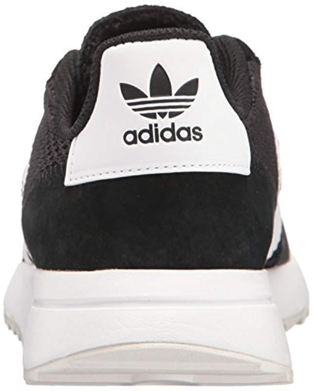 low priced c14db 1493e Lyst - adidas Originals Flashback Fashion Sneakers Whiteblack, ((10 M Us)  in Black