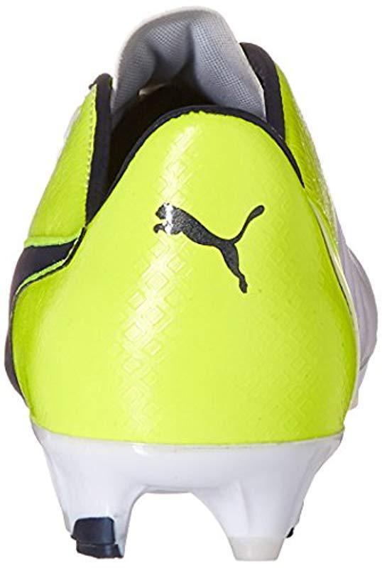 eb405176754 Lyst - PUMA Evopower 1.3 Lth Fg Soccer Shoe in White for Men