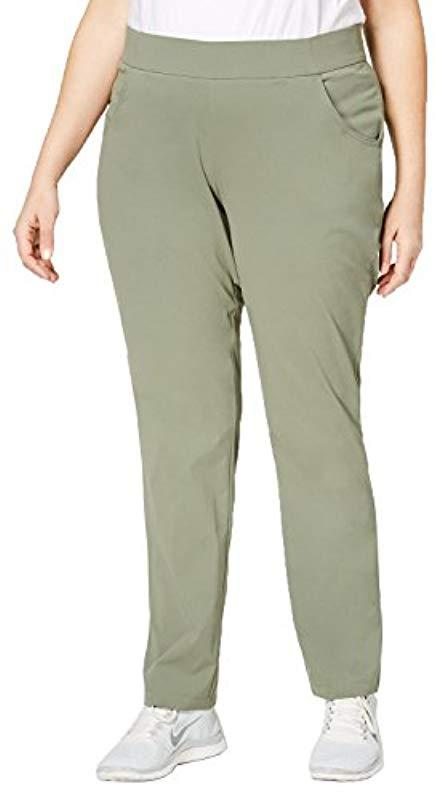 4671fb627d5 Lyst - Columbia Plus Size Anytime Casualtm Pull-on Pants in Green ...