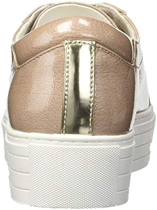 5633d1abf360 Kenneth Cole - Natural Abbey Platform Lace-up Techni-cole Sneaker - Lyst.  View fullscreen