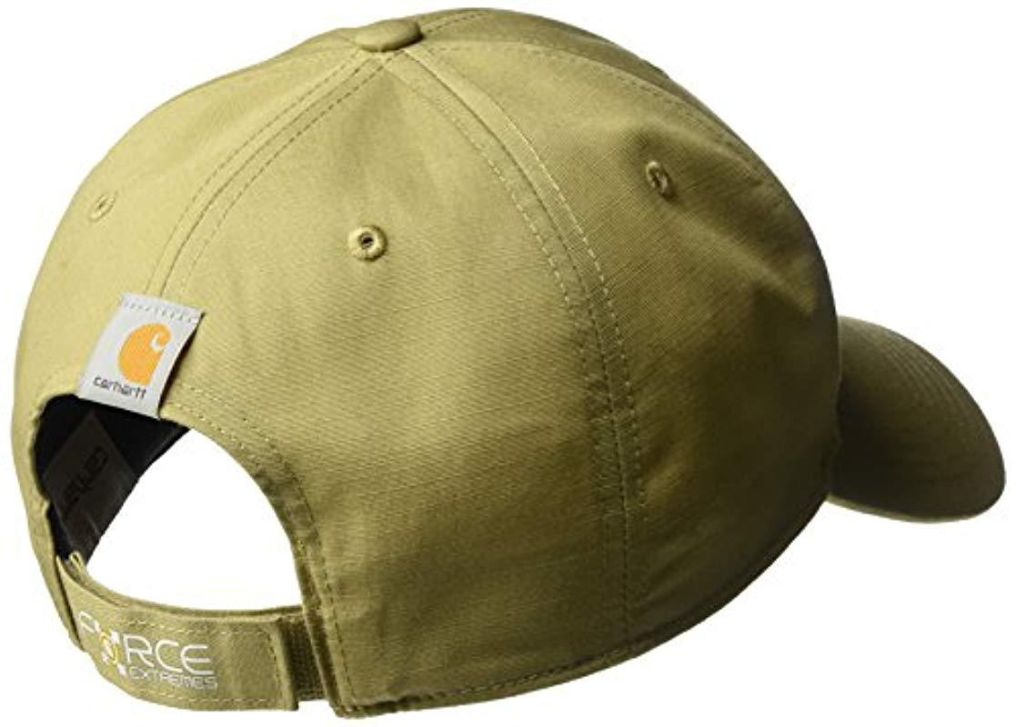 a30caf9053238 Carhartt - Green Force Extremes Ball Cap for Men - Lyst. View fullscreen