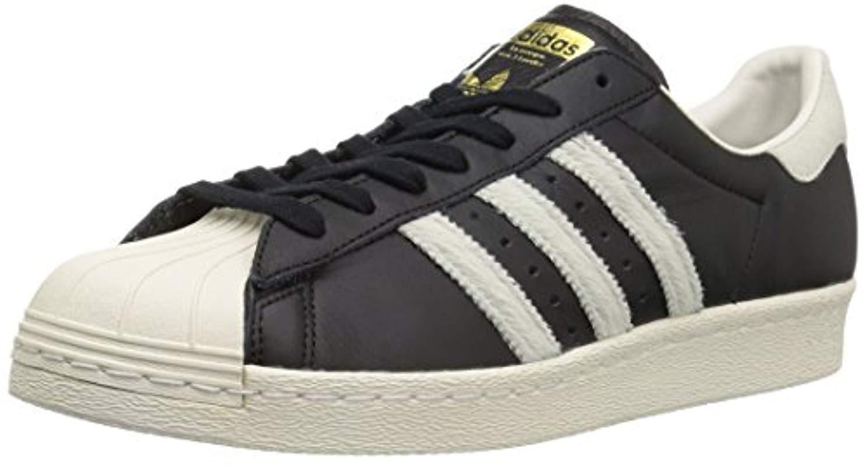 newest 37b27 f2145 adidas Originals. Men s Black Superstar 80s Running Shoe