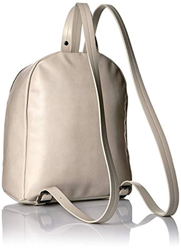 a7036c78210 Armani Jeans - Natural Embossed Floral Backpack - Lyst. View fullscreen