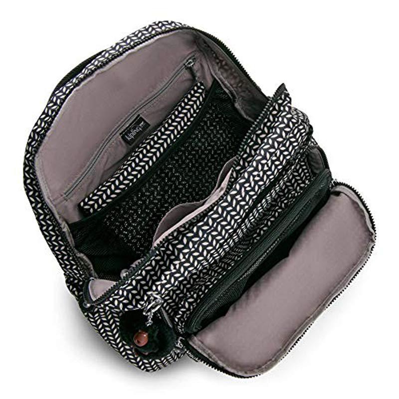 43b813666bba Lyst - Kipling Maisie Printed Diaper Bag Backpack