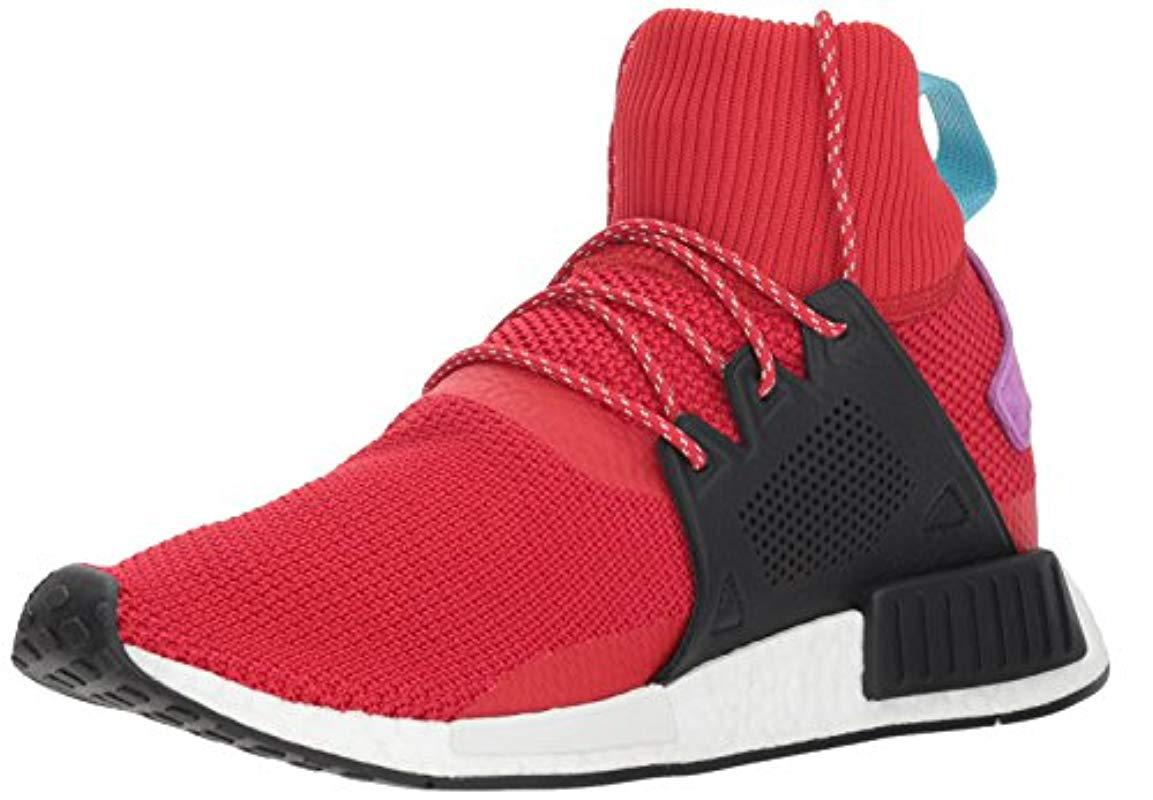 fc92c8db7a5f Lyst - Adidas Originals Nmd xr1 Winter Running Shoe in Red for Men