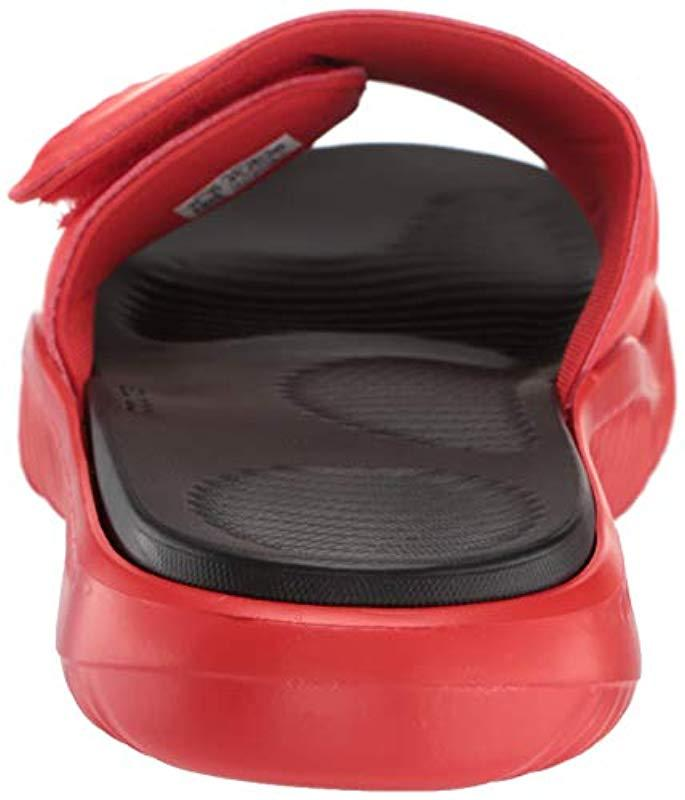 d75477180 Lyst - Adidas Alphabounce Slide in Red for Men