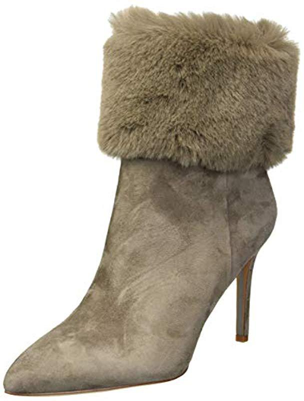 862d647195f070 Lyst - Sam Edelman Oleana Fashion Boot in Gray - Save 33%