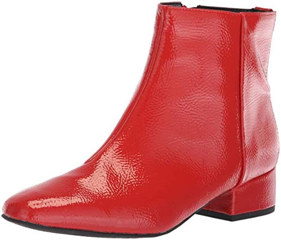 907fab738a991c Lyst - Circus by Sam Edelman Lyndsey Fashion Boot in Red - Save 80%