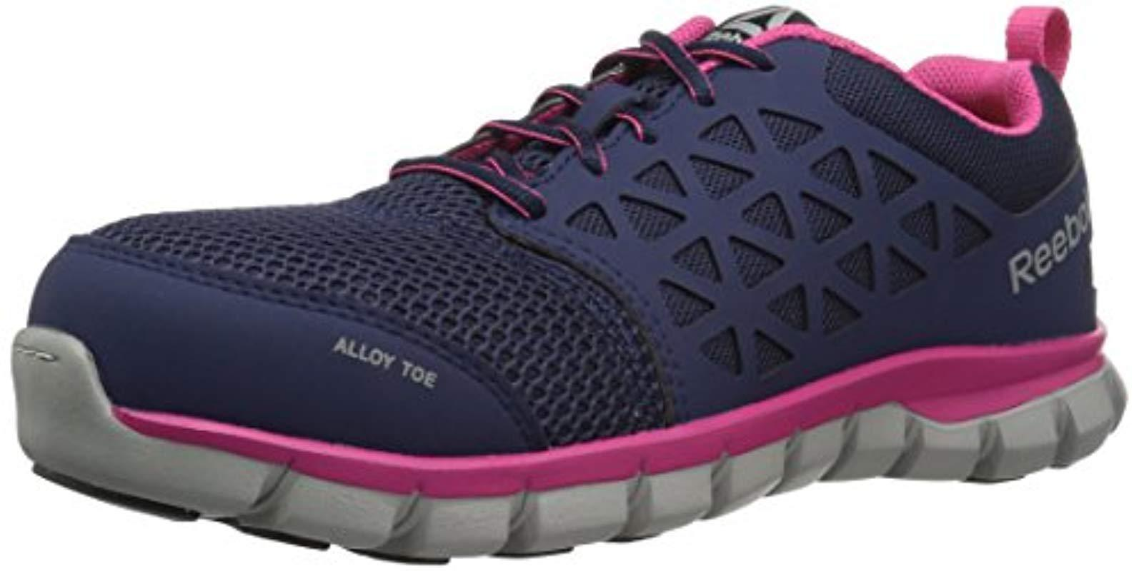 Lyst - Reebok Sublite Cushion Work Rb046 Boot in Blue - Save ... f8a48f52f