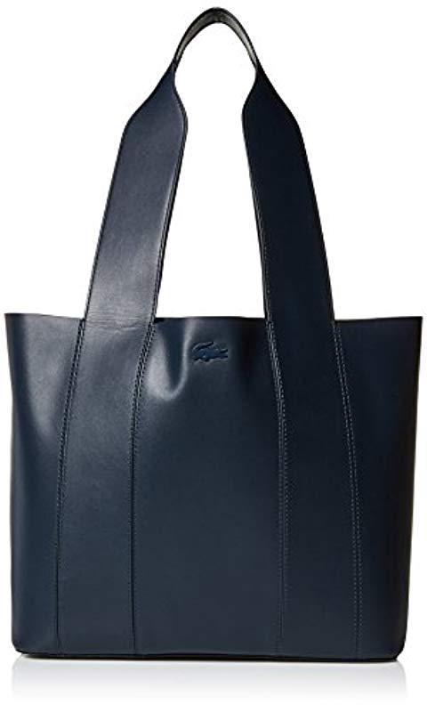 8b6bdff6f5c5c7 Lyst - Lacoste Medium Shopping Bag