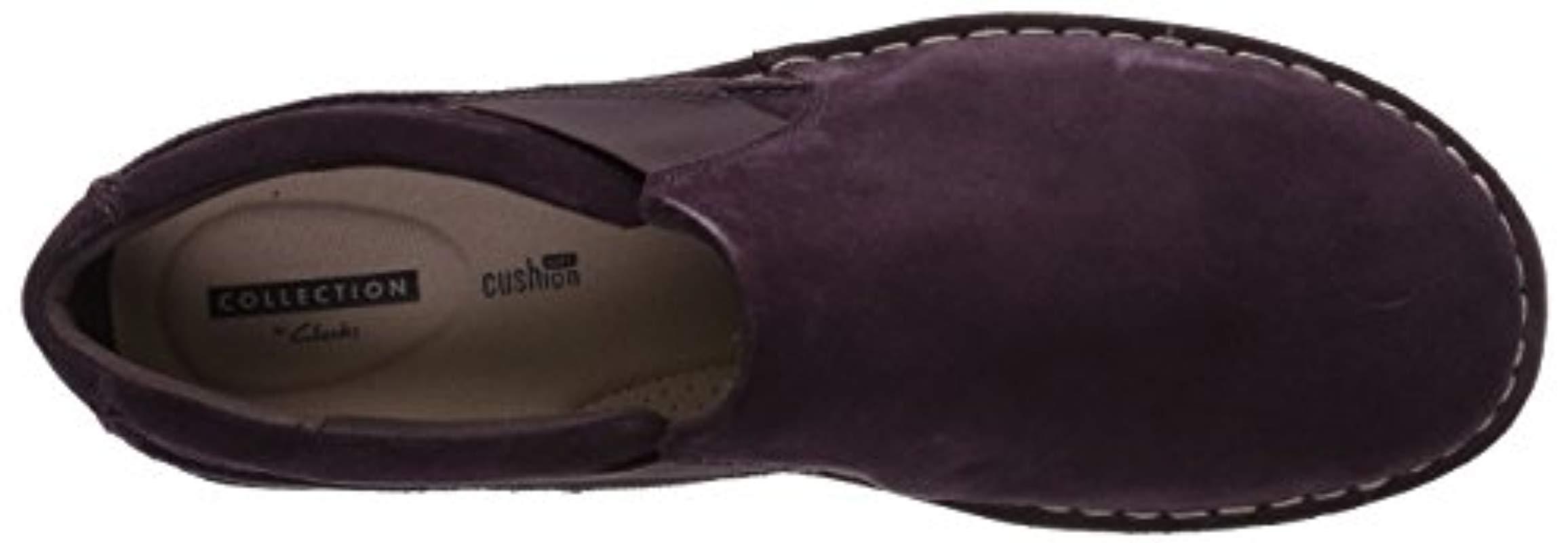 e9708e1a2e6 Clarks - Purple Tamitha Gwyn Loafer - Lyst. View fullscreen