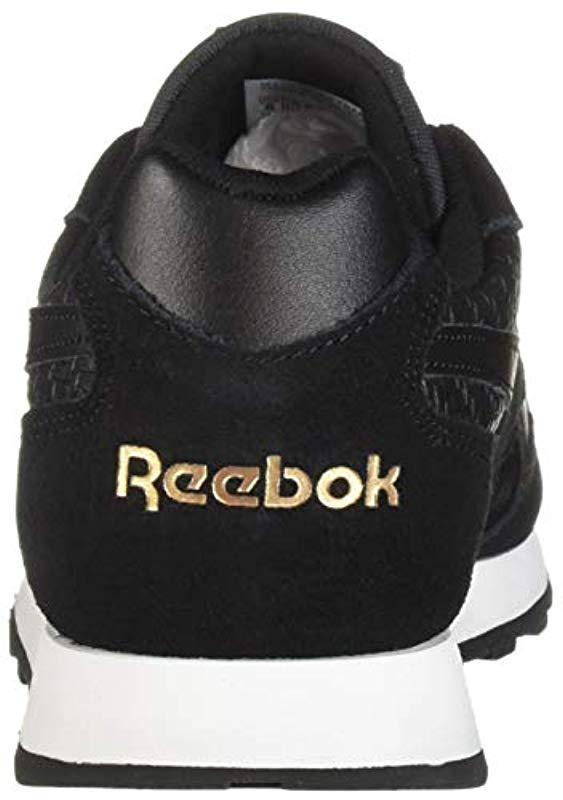a2377312214 Reebok - Black Classic Harman Run Sneaker - Lyst. View fullscreen