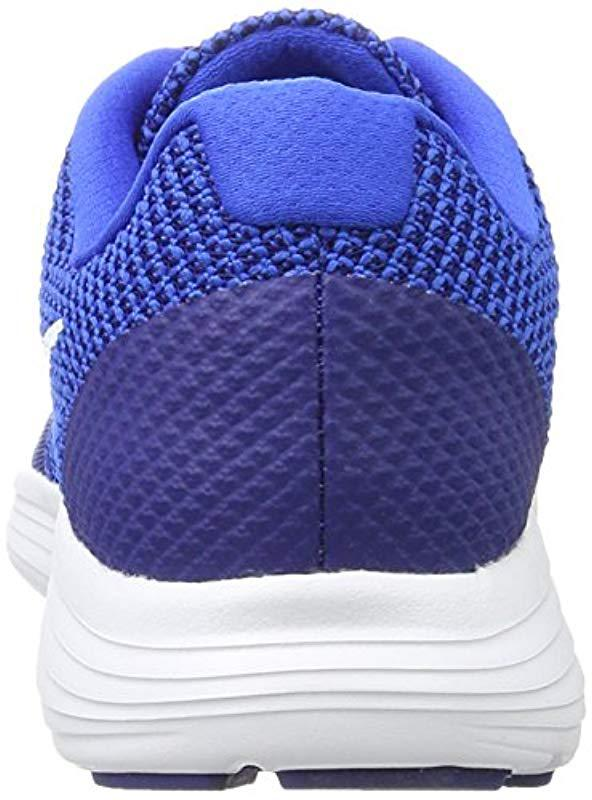best service f550f c53fc Nike - Blue Revolution 3 Running Shoe for Men - Lyst. View fullscreen