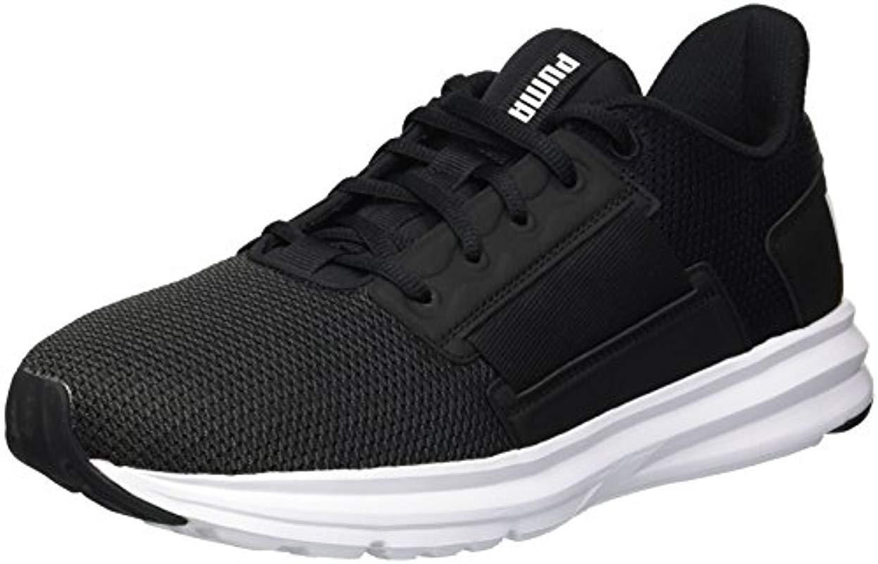 81f6ef1541e2ce PUMA - Black Enzo Street Sneaker for Men - Lyst. View fullscreen