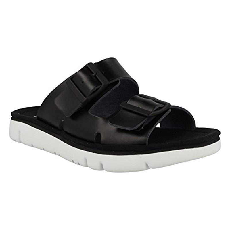 Lyst - Camper Oruga Sandal K200633 Flat in Black - Save ... 61028478d70