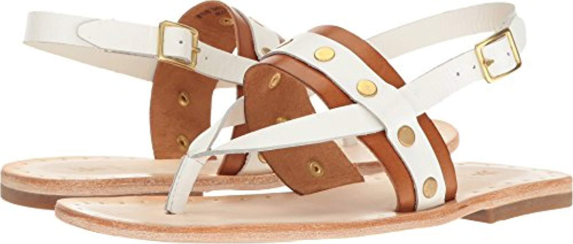 55f803717c3 Frye. Women s Avery Stud Thong Flat Sandal