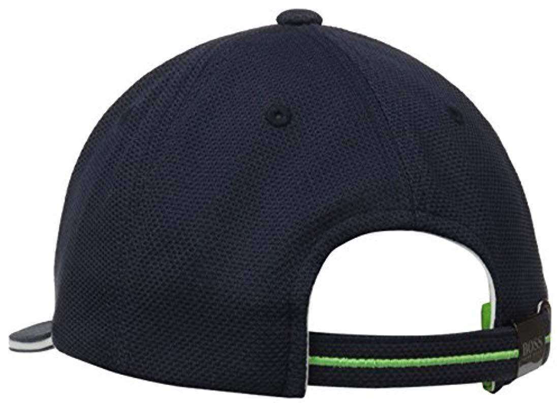 Lyst - Boss Boss Green Cap Us in Blue for Men - Save 27.272727272727266% 30ba1cc18e7
