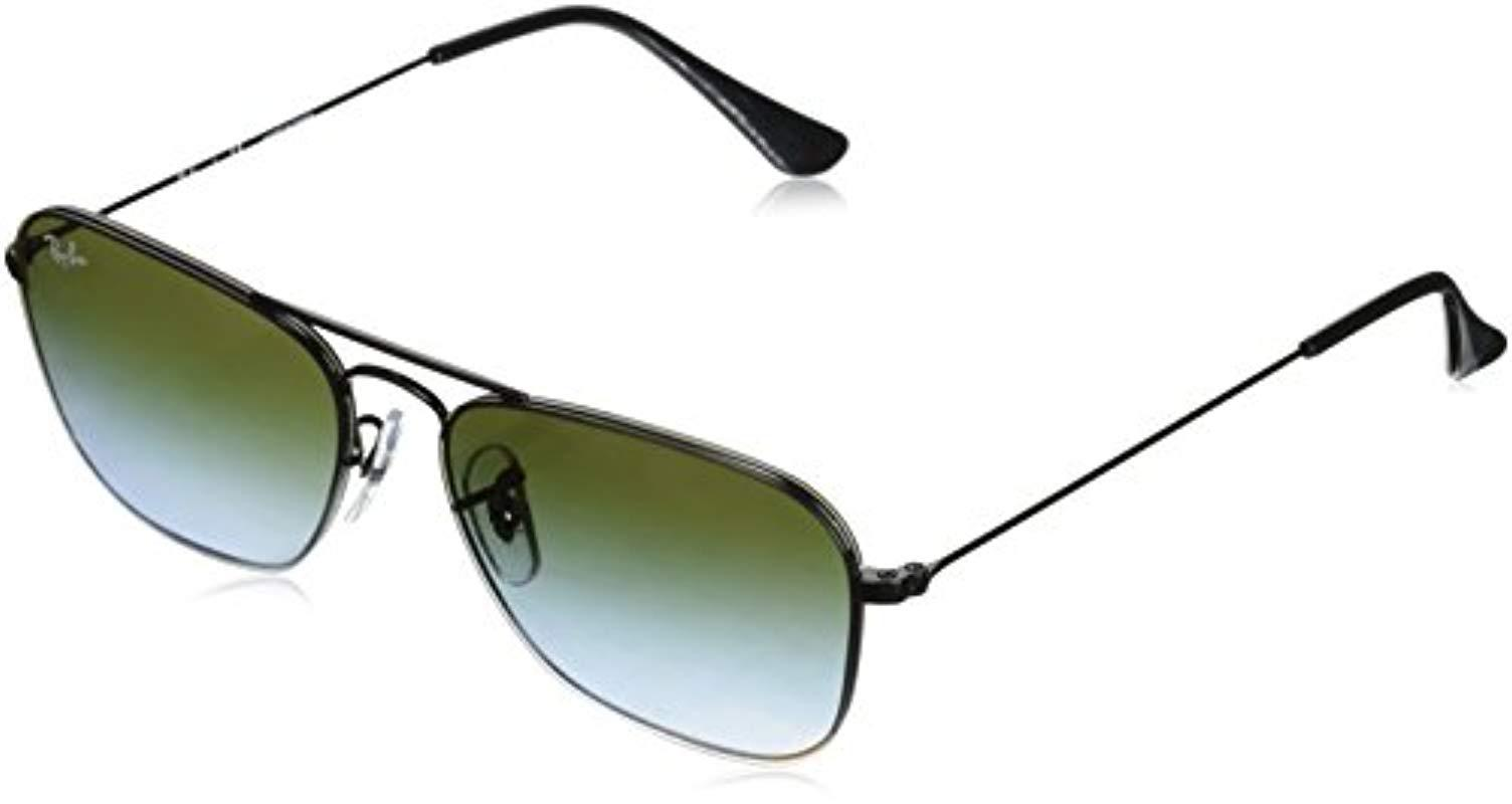 3b41464a69f24 Lyst - Ray-Ban Metal Unisex Sunglass Square