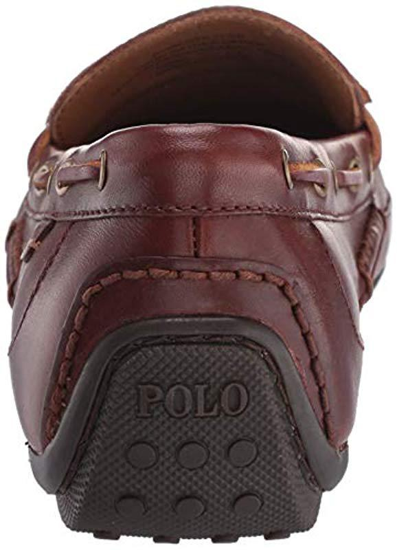 Polo Ralph Lauren - Brown Roberts Driving Style Loafer for Men - Lyst. View  fullscreen 6f11b67e26c