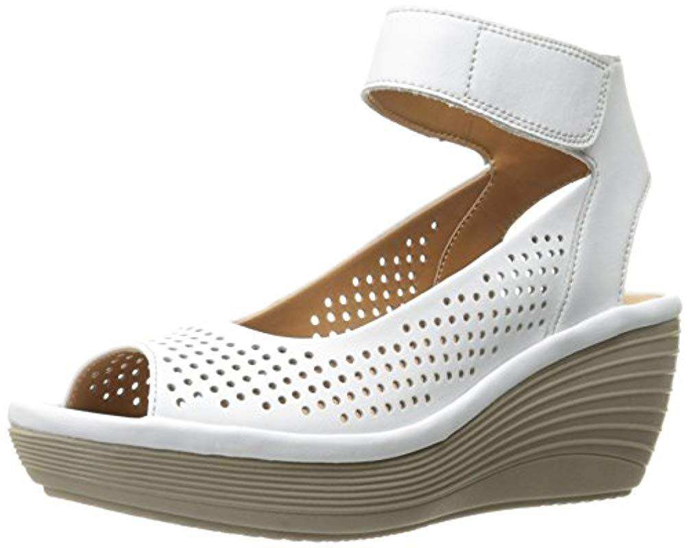 0a488ed25f9 Lyst - Clarks Reedly Salene in White - Save 19%