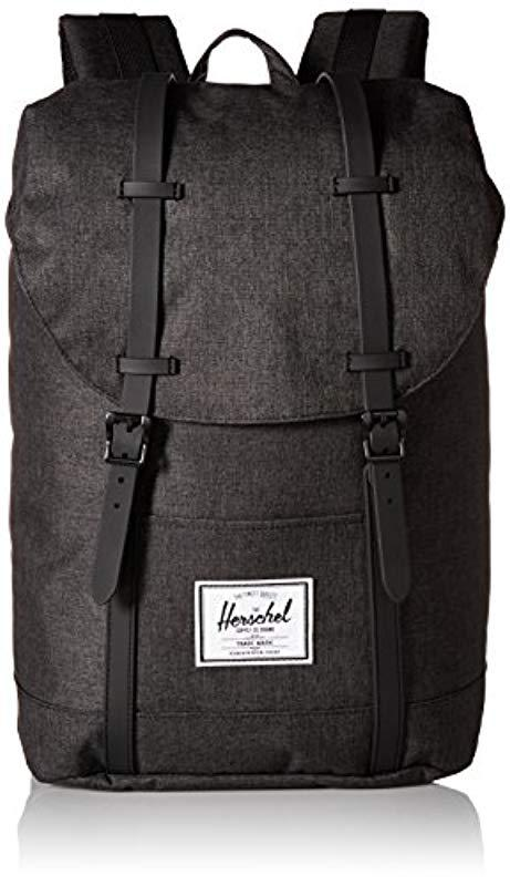 cc44de96bb Lyst - Herschel Supply Co. Retreat Backpack in Black for Men