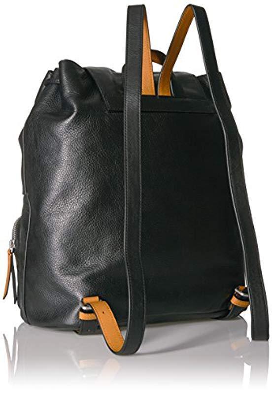e5ef4cf013d8 Vera Bradley - Black Gallatin Cargo Backpack - Lyst. View fullscreen