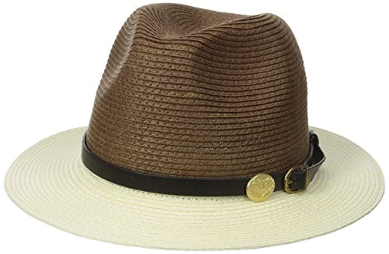 d69c3e9dad0 Lyst - La Fiorentina Straw Brim Hat With Leather Strap in Brown