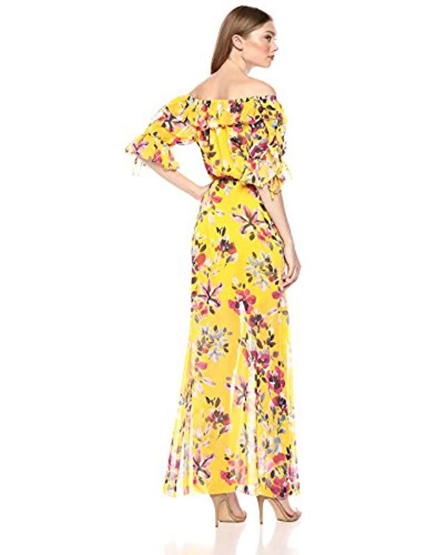 892d960906e French Connection Linosa Dress in Yellow - Save 9% - Lyst