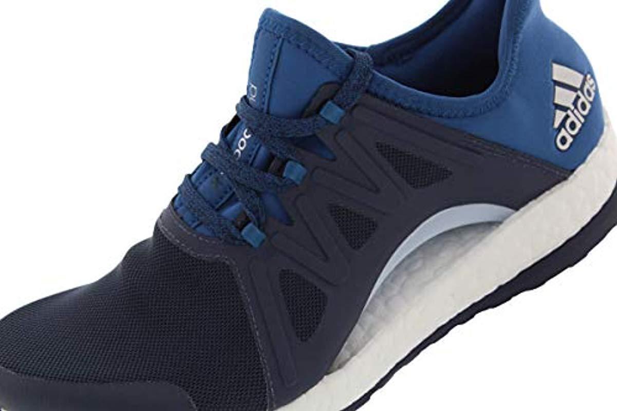e89fa593c Adidas - Blue Performance Pureboost Xpose Running Shoe - Lyst. View  fullscreen