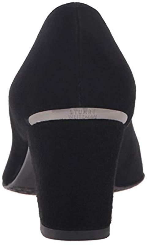 2443c5a3303 Stuart Weitzman - Black Marymid Patent Leather Pumps - Lyst. View fullscreen