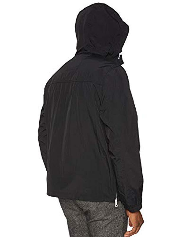4fc667086 Tommy Hilfiger Retro Lightweight Taslan Popover Jacket in Black for ...