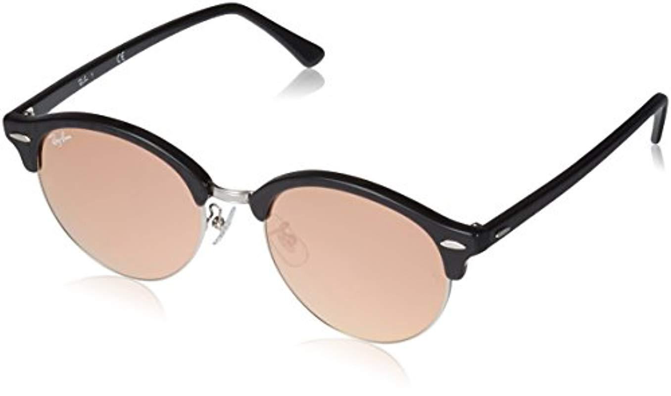 4e475ed076 Lyst - Ray-Ban Rb4246f Clubround Sunglasses in Black for Men