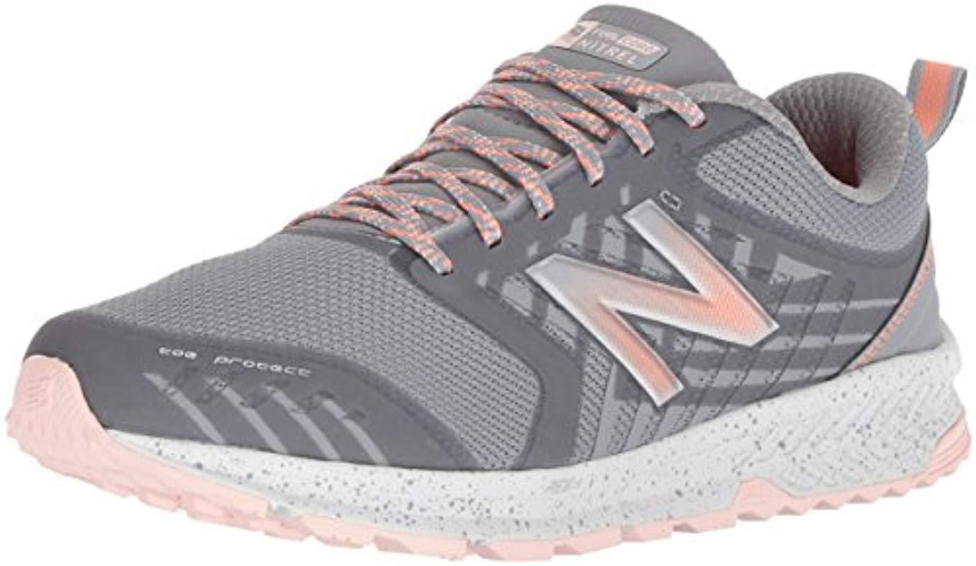970e1a7c3482b Lyst - New Balance Nitrel V1 Fuelcore Trail Running Shoe, Grey, 10 B ...