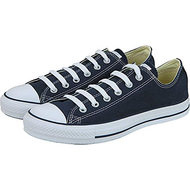 4dbb7c3515b Lyst - Converse Chuck Taylor All Star Core Ox Shoes Navy 3   5 in Blue