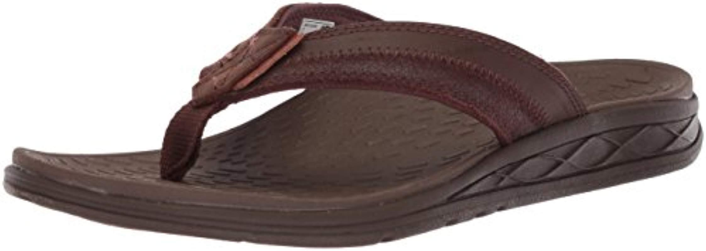 2aa163077 Lyst - New Balance Pinnacle Flip Flop in Brown for Men - Save 12%