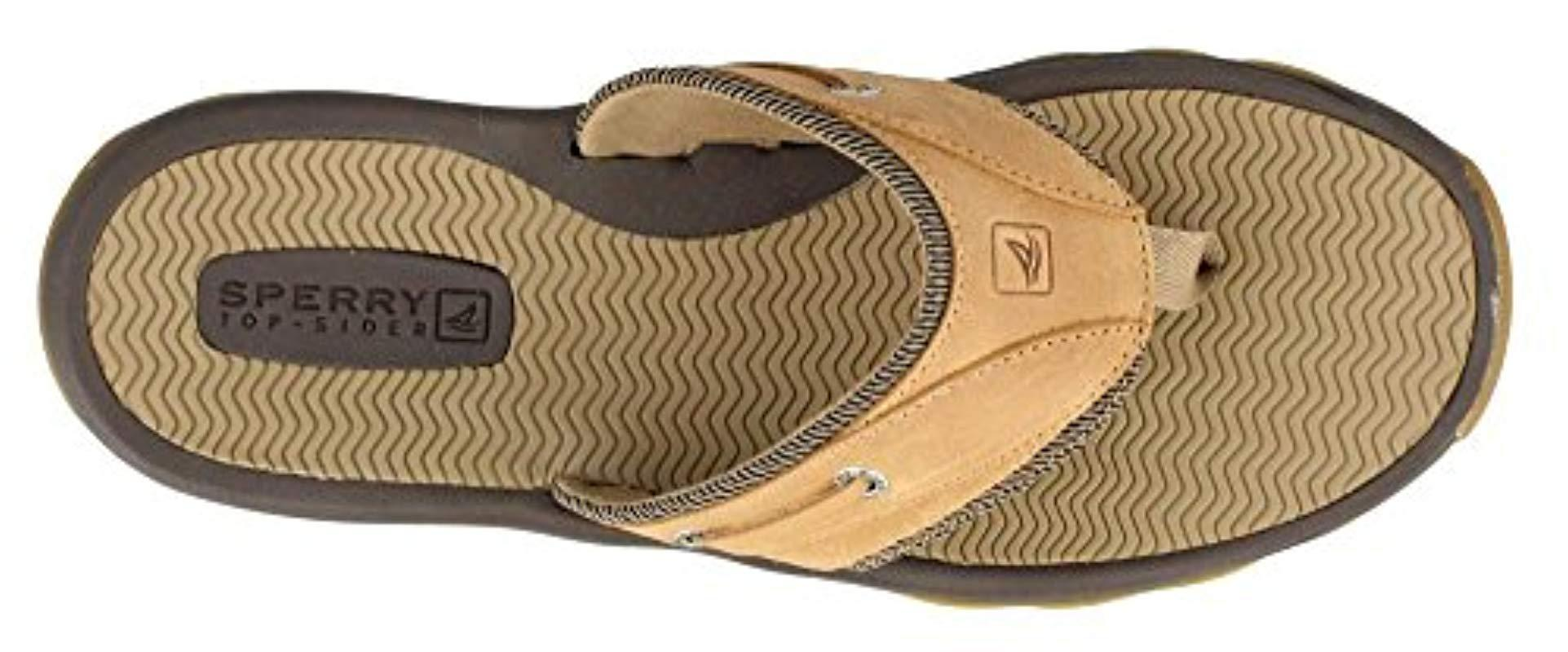 769687ccb6a6b Lyst - Sperry Top-Sider Top-sider Outer Banks Thong Sandal for Men