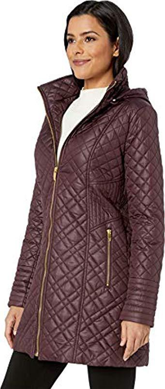 4e725aaa8d0 Via Spiga - Multicolor Center Zip Diamond Quilt - Lyst. View fullscreen