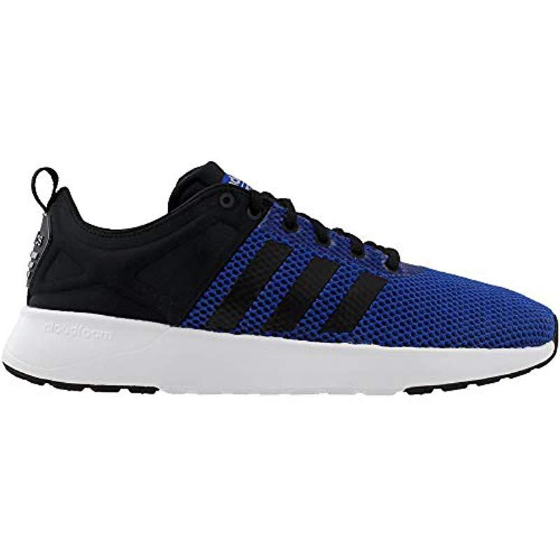 779cba0dd69649 Adidas - Black Neo Cf Super Racer Running-shoes for Men - Lyst. View  fullscreen