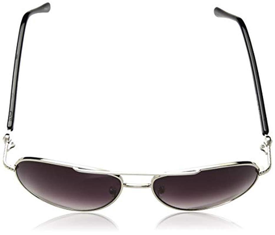 00b4542b1 Steve Madden - Black Elissa Aviator S5187 Aviator Sunglasses - Lyst. View  fullscreen