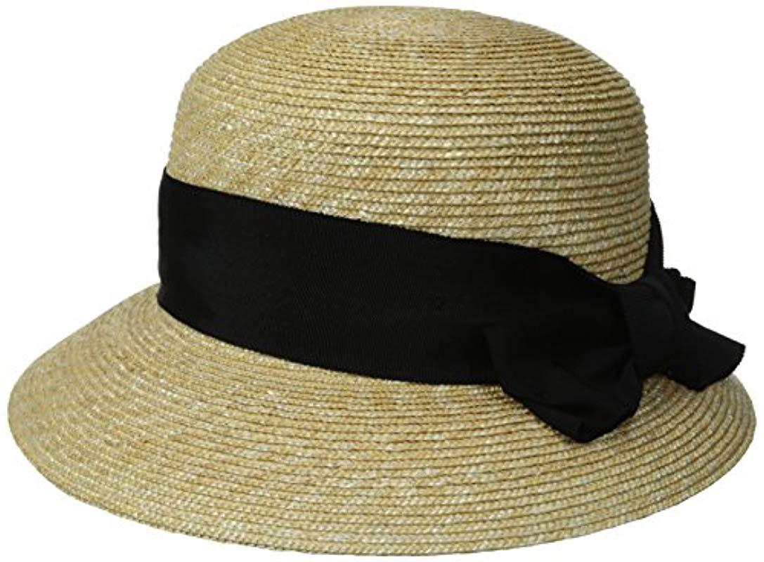 ff430aba511 Gottex. Women s Darby Fine Milan Straw Packable Sun Hat